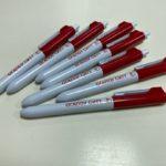 Ручки с нанесением логотипа 🌸